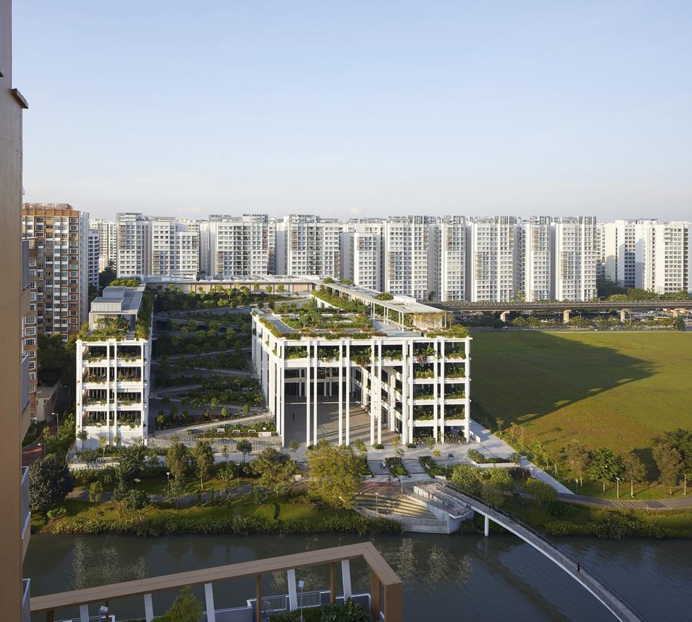 Oasis Terraces w Singapurze
