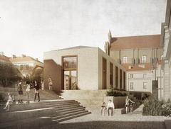 Nowy budynek UW na tzw. dziedzińcu górnym – wyniki konkursu