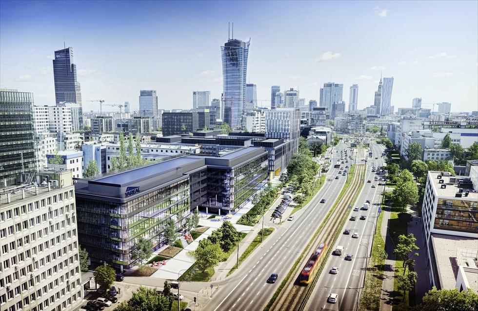 Zespół biurowy Lixa w Warszawie
