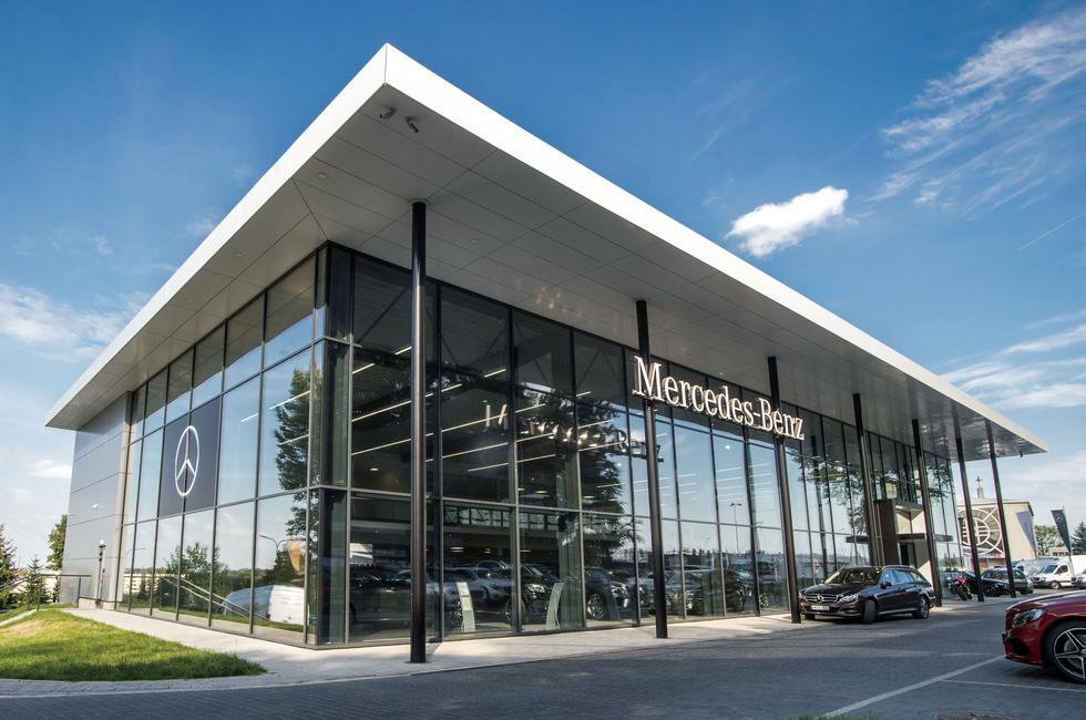 Salon Mercedesa w Krakowie