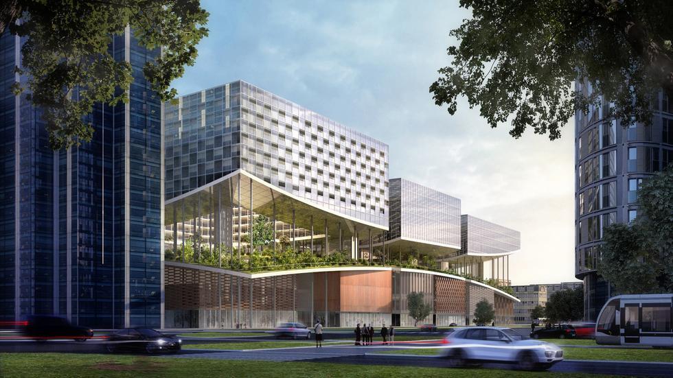 Bjarke Ingels Group – Warszawa z projektem pracowni BIG [NOWE WIZUALIZACJE]