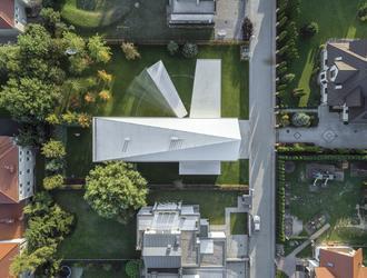 Architizer A+ Popular Choice Award dla Domu Kwadrantowego KWK Promes