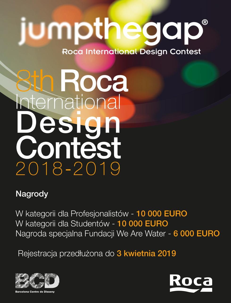 Jump the Gap 2019 – zaprojektuj łazienkę przyszłości i wygraj 10 000 euro!