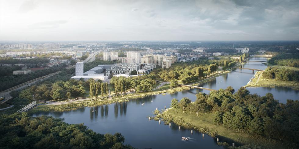 Park Żerański – wyniki konkursu. Pierwszy postidustrialny park w Warszawie!