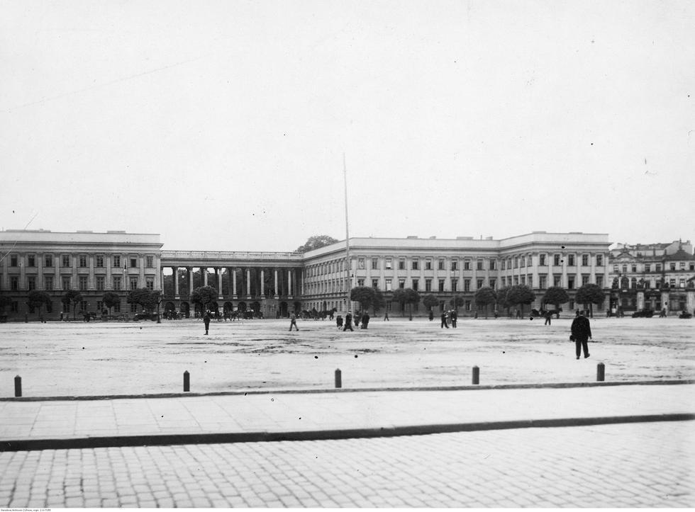 Pałac Saski siedzibą Narodowego Instytutu Architektury i Urbanistyki!