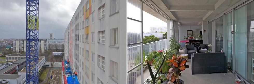 Przebudowa bloków w Bordeaux