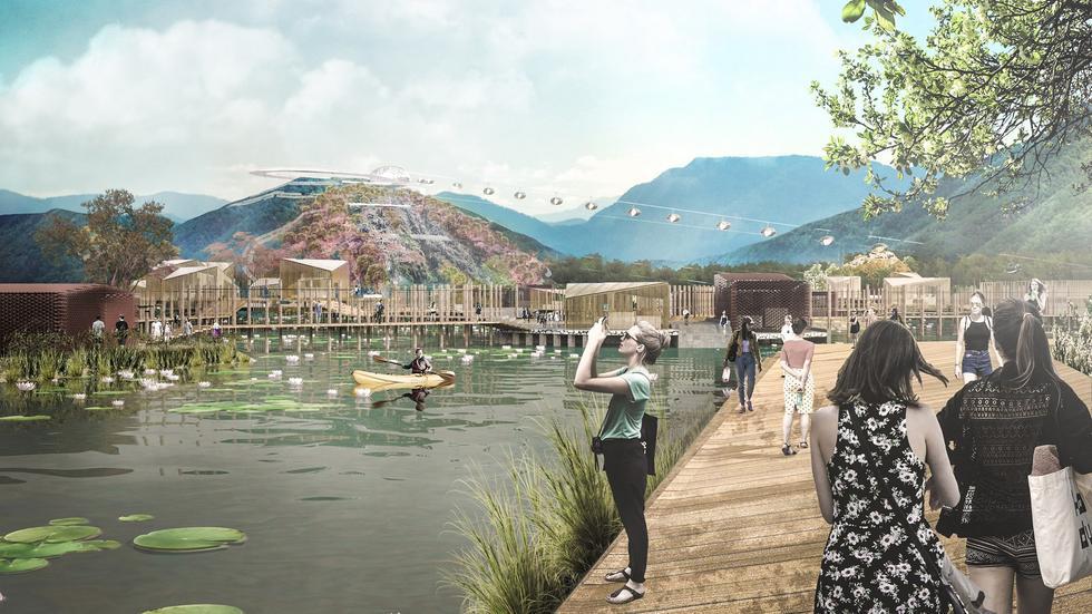 Park krajobrazowy w Xingyi – młodzi polscy architekci podbijają Chiny!
