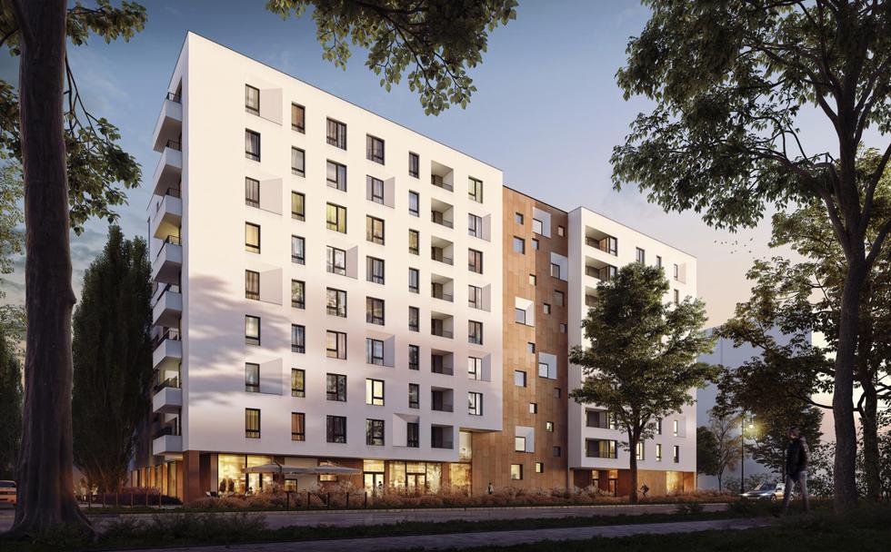 Budynek mieszkalny SOHO 18 w Warszawie