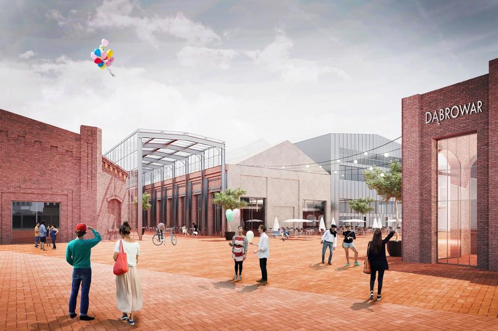 Fabryka Pełna Życia – wyniki konkursu na nowe centrum Dąbrowy Górniczej