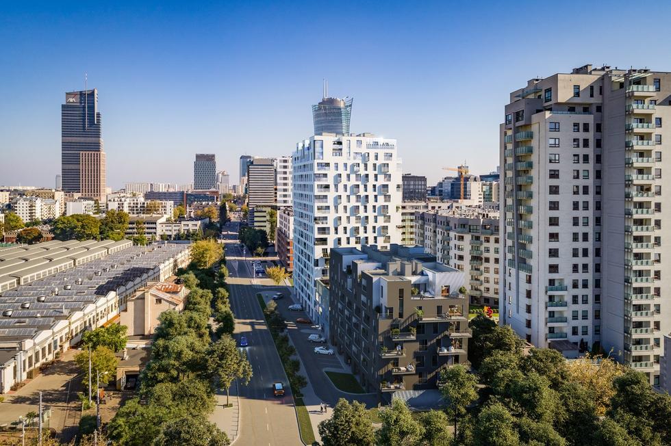 Zespół mieszkalny W Apartments w Warszawie