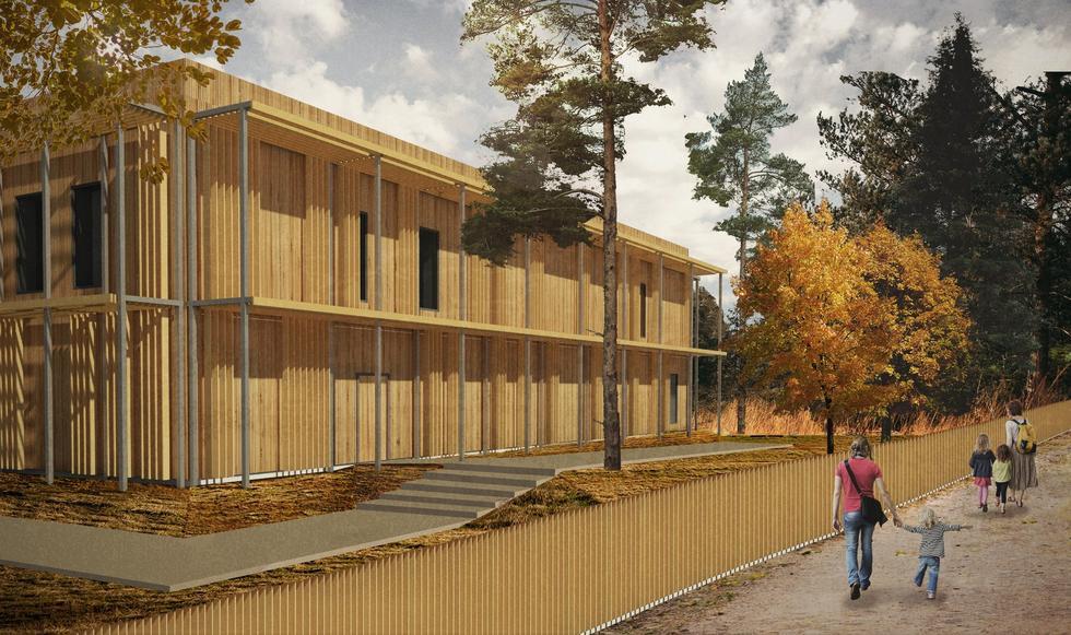 Pasywne przedszkole w Podkowie Leśnej