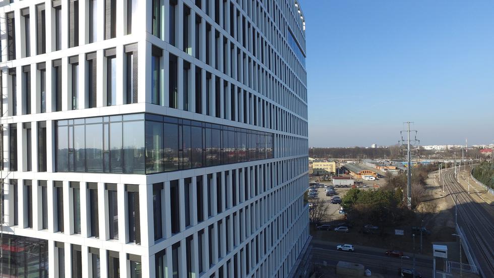 Biurowiec Vector+ na warszawskiej Woli