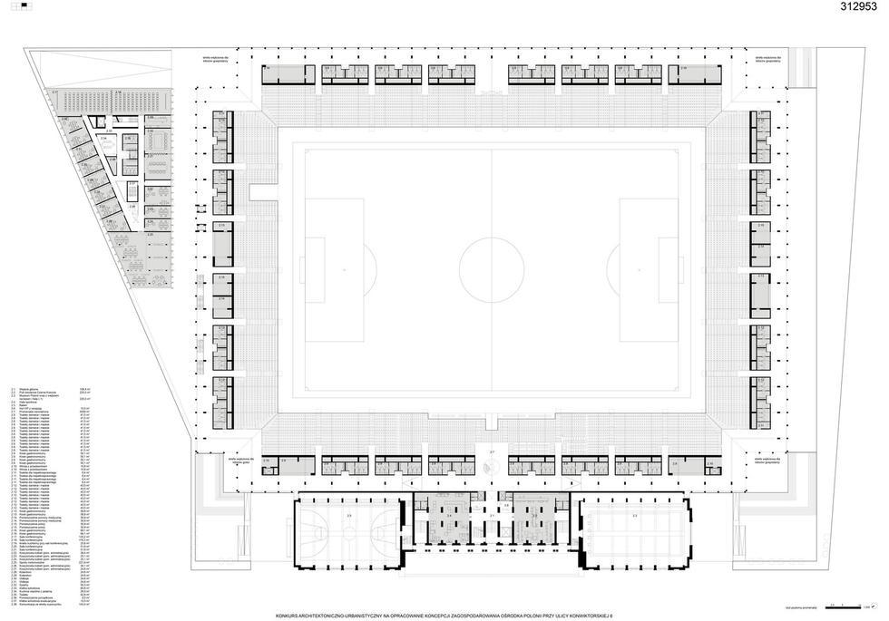 Stadion Polonii od nowa – wyniki konkursu