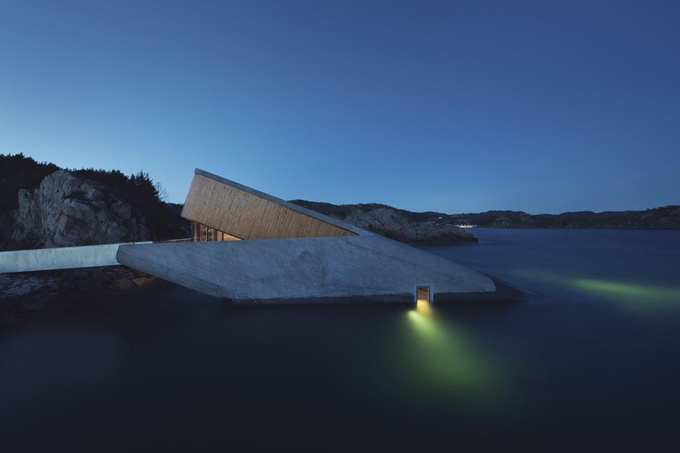 Restauracja Under w Norwegii