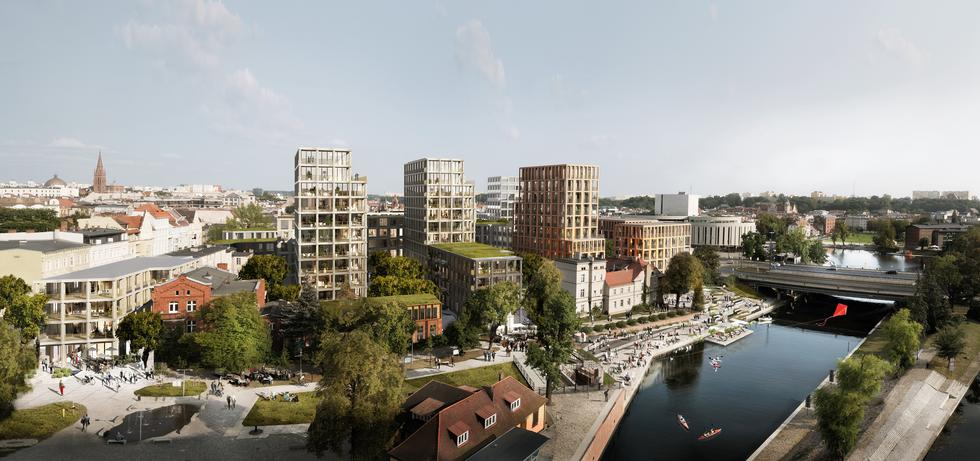 Nowy Port w Bydgoszczy według projektu BBGK Architekci