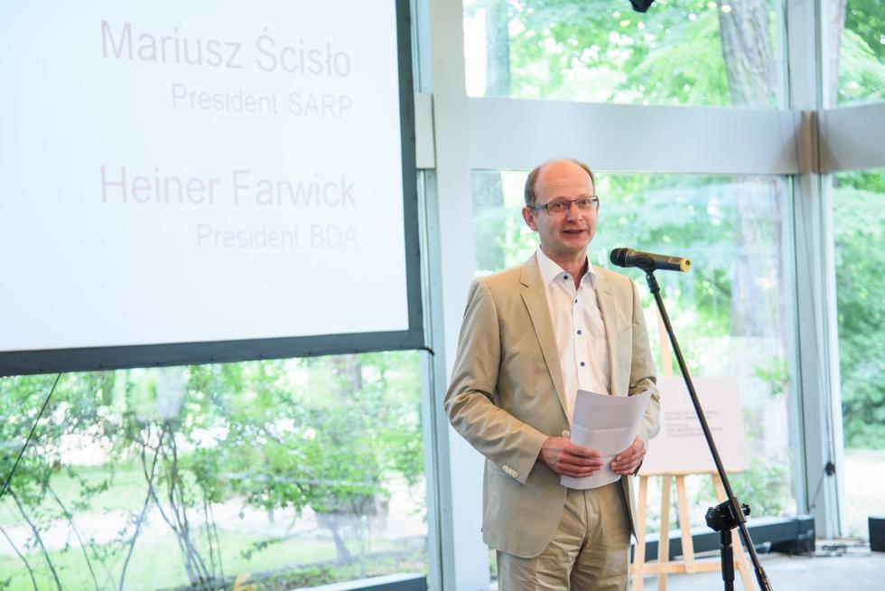 Prezes BDA arch.Heiner Fawrick