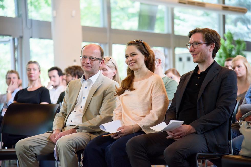Prezes BDA, arch. Hainer Fawrick, Jury Nagrody BDA- SARP, arch. Ayşin Ipekçi, arch.Jan Wirth