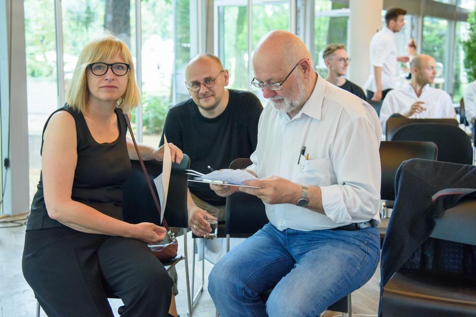 Jury Nagrody BDA-SARP, arch. Magdalena Kozień-Woźniak, arch. Marcin Brataniec, arch. Jacek Lenart