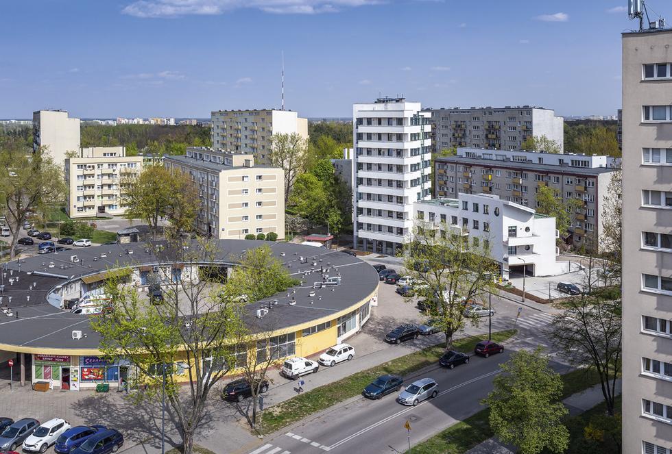 Biały Dom na Bielanach w Warszawie