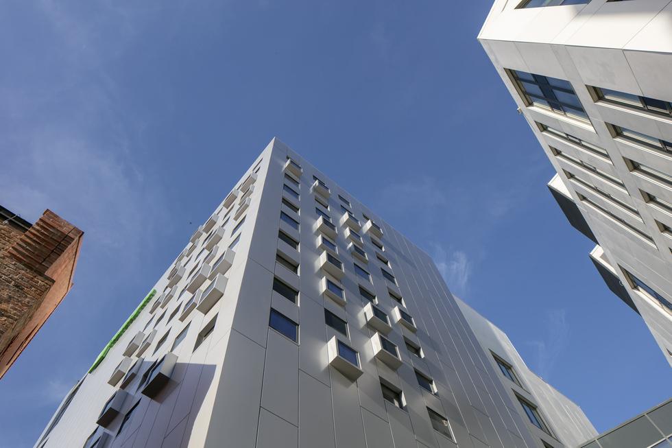 Hotel na Wyspie Spichrzów według projektu RKW Architektur+