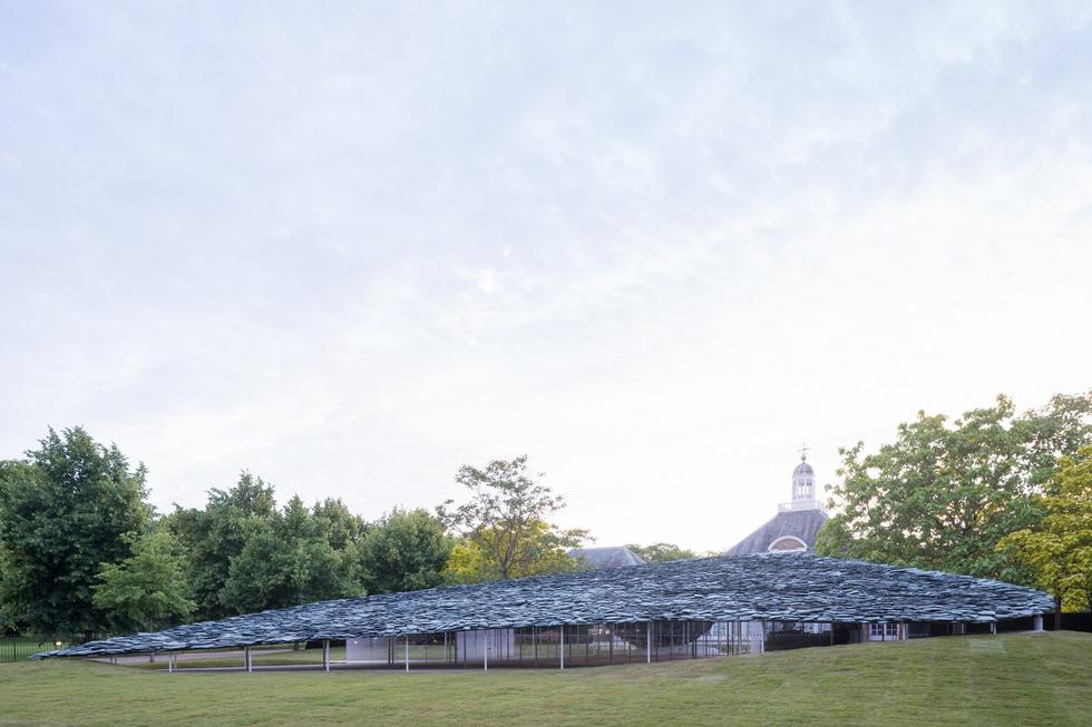 Serpentine Pavilion 2019 na zdjęciach Iwana Baana