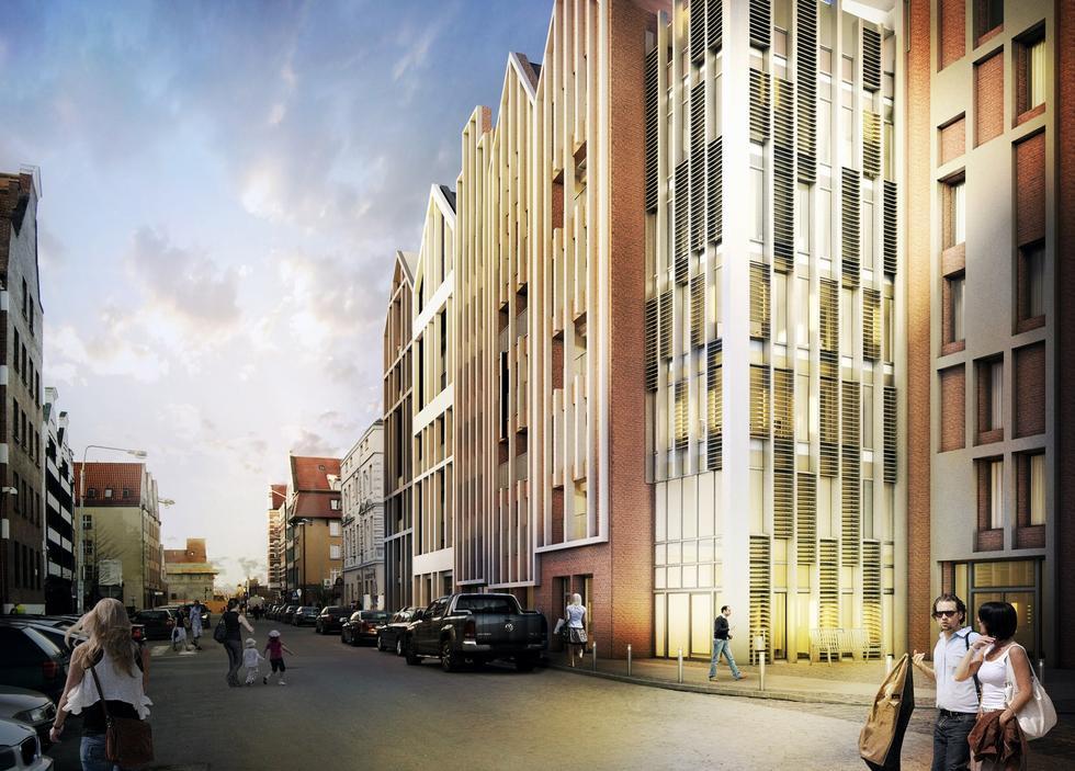 Zespół apartamentów Grano Residence w Gdańsku