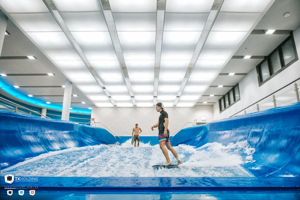 Wodny Park Tychy projektu TKHolding – energooszczędne centrum rozrywki i rekreacji w Tychach