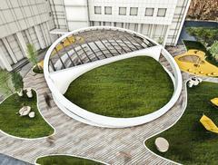 Amfiteatr przy biurowcu Adgar BIT