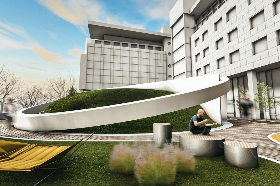 Humanizacja Mordoru ciąg dalszy: amfiteatr projektu biura mode:lina