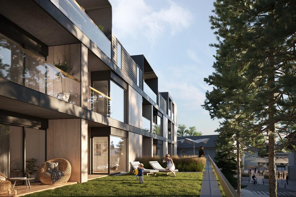 Budynek mieszkalno-usługowy w Polanicy-Zdroju projektu Q2Studio