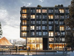 Apartamentowiec Chlebova w Gdańsku z pozwoleniem na budowę