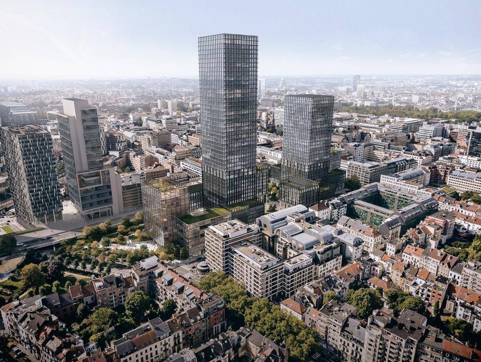 Nowa siedziba Komisji Europejskiej według Kuryłowicz & Associates