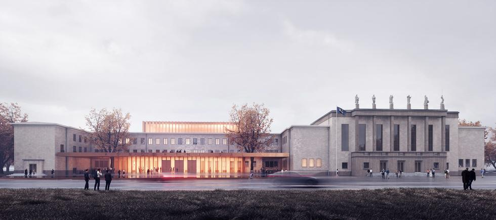 Nowa filharmonia w Ostrawie według Konior Studio