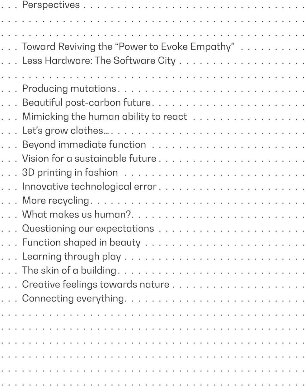 Laka Perspectives 2: projektowanie dla świata przyszłości