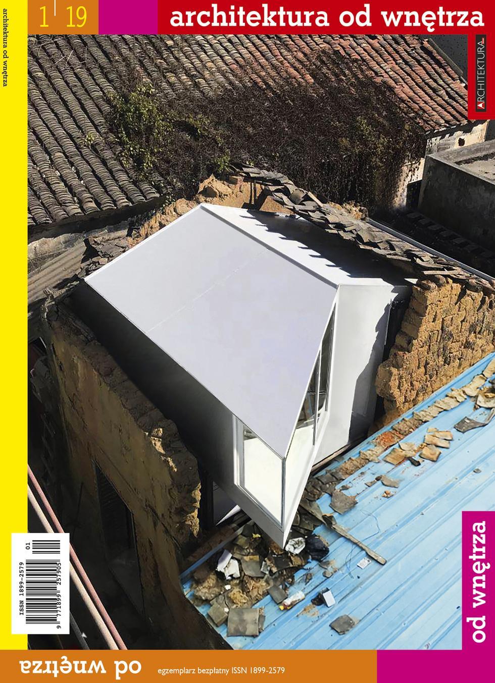 """""""Architektura od wnętrza"""" nr 1/2019. Pobierz bezpłatne e-wydanie!"""