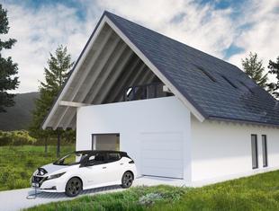 Dom Optymalny KWK Promes w pakiecie z samochodem elektrycznym