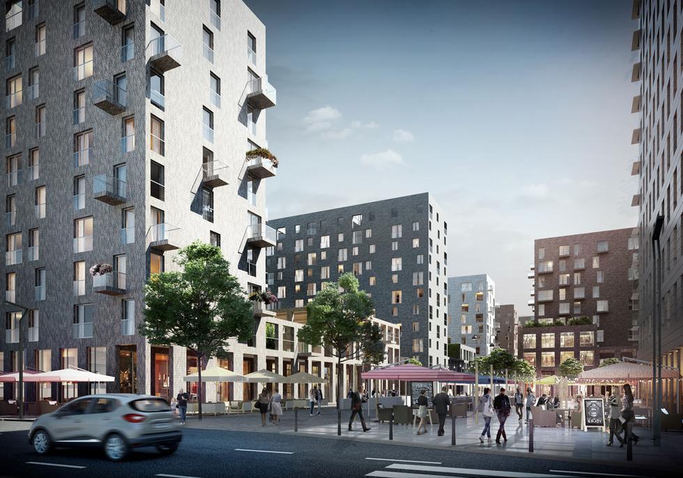 Mieszkania zamiast biur na warszawskim Mordorze – nowy projekt Kuryłowicz & Associates
