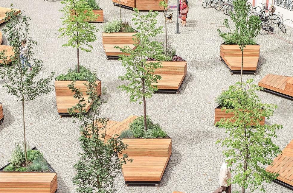 Projekt ławka – nowe miejskie siedziska