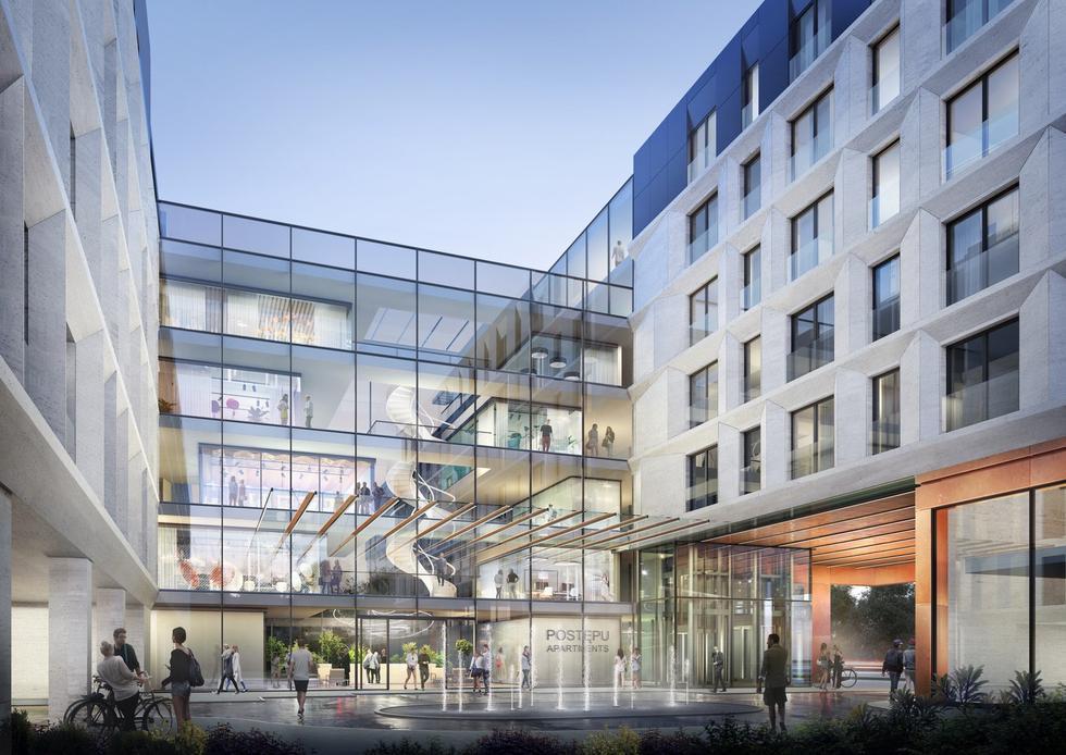 Grupa 5 Architekci wygrała konkurs inwestorski na projekt zespołu apartamentów w Warszawie