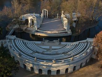 Zadaszenie amfiteatru w Łazienkach Królewskich – konkurs studialny