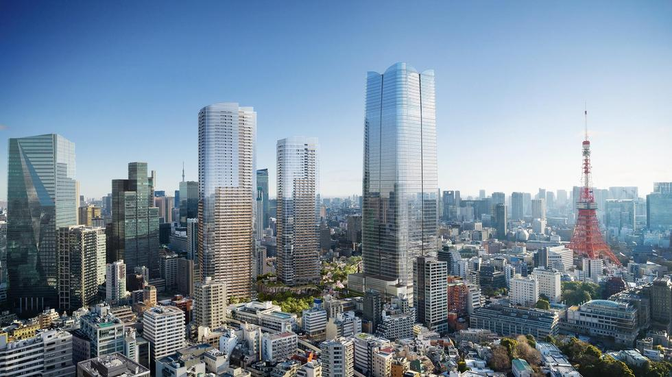 Rewitalizacja centrum Tokio: César Pelli, Thomas Heatherwick, Sou Fujimoto i inni