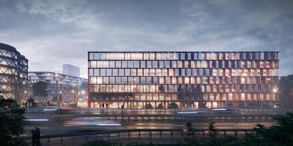 Pracownia WXCA wygrała konkurs na projekt biurowca we Wrocławiu