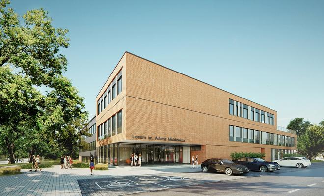 Szkoła w formule PPP – rozbudowa liceum w Piastowie