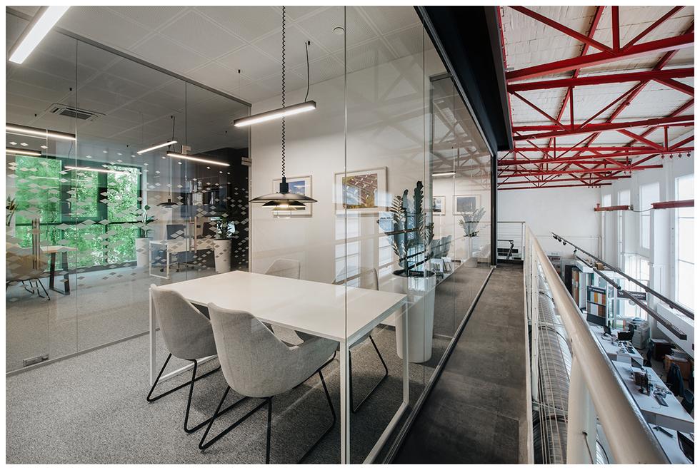 Biuro na antresoli – siedziba firmy Budus we Wrocławiu