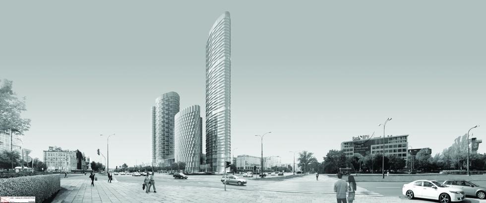 Budynki biurowe Rondo Daszyńskiego