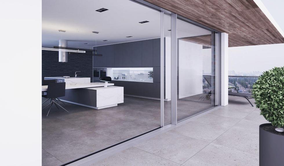 Dom z widokiem na komfort – zalety dużych przeszkleń