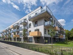 Budynek Cerisier Résidence od Ultra Architects
