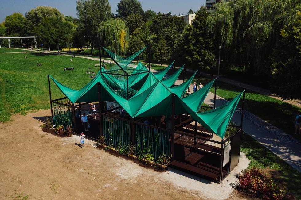 Strefy spotkań projektu Jakuba Szczęsnego w trzech polskich miastach