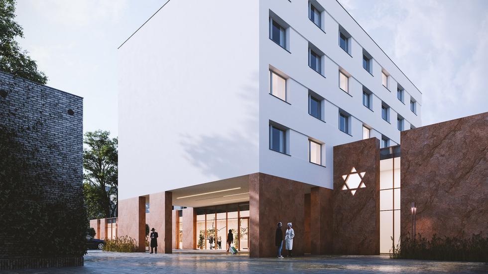 Pierwsza synagoga w powojennej historii Łodzi