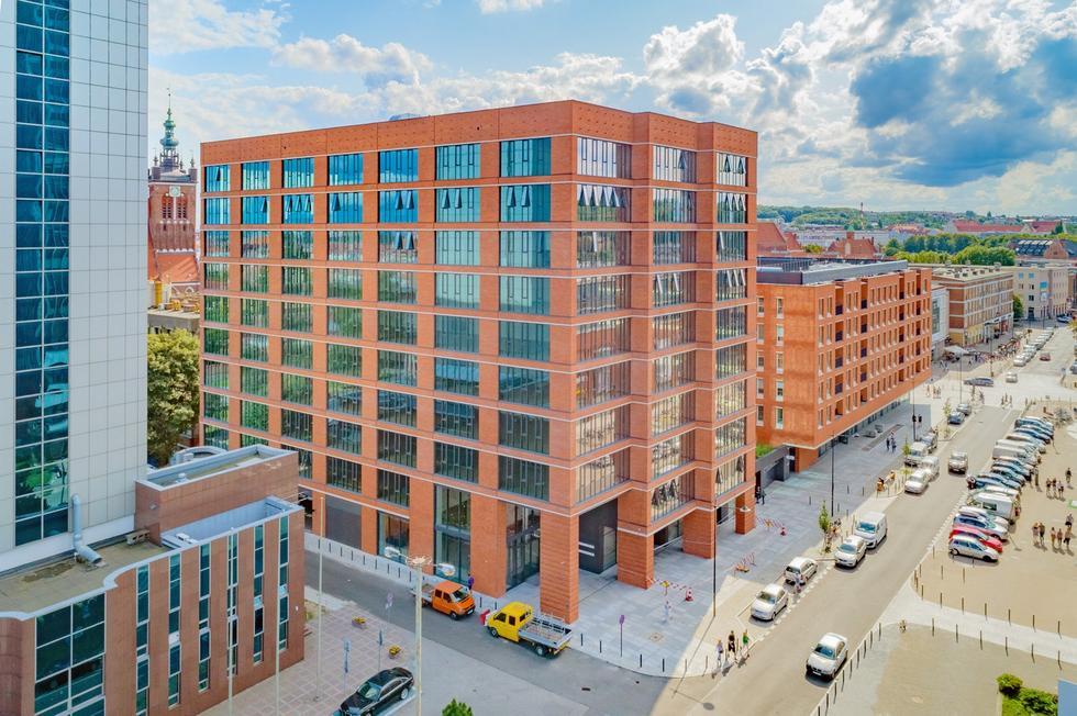 Heweliusza 18 – JEMS Architekci zaprojektowali nowy biurowiec w centrum Gdańska